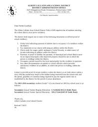 How To Write A Letter Showing Proof Of Residency Lv Crelegant Com