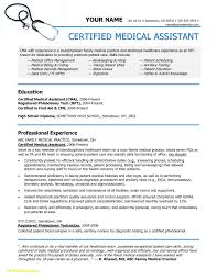 Medical Assistant Duties For Resume Unique 22 Medical Assistant