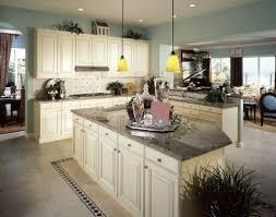Raised Kitchen Floor Kitchen White Raised Panel Kitchen Cabinets Wtih Dark Granite