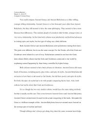 compare contrast essay  vannesa banister<br > 12 2011 p5<br >compare