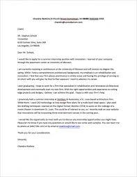 Cover Letter For Internship Sample Fastweb In Internship Resume