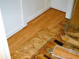 can i install hardwood floor on osb