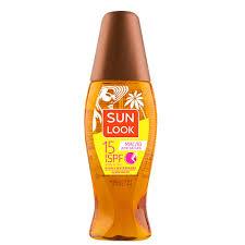 Купить <b>Сухое масло для</b> загара `SUN LOOK` SPF-15 150 мл по ...