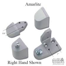 front commercial doors pivot hinge amarlite right hand aluminum