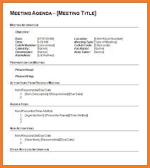agenda template word agenda template word bio letter sample