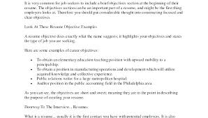 What Should Be In The Objective Of A Resume Do You Need Objective