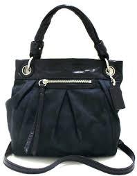 Coach Parker Op Art Medium Black Convertible Hippie Bag - 13420
