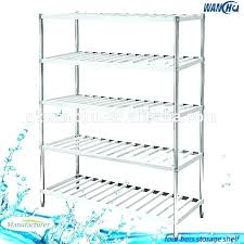 commercial drying rack antimicrobial polymer dish restaurant storage bottle wall mounted french cab