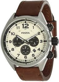mens leather watches fossil best watchess 2017 new fossil coachman chronograph brown leather men watch 45mm
