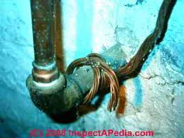 old house wiring inspection repair electrical grounding knob absence of good electrical grounding at older homes