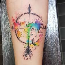 скетч акварель татуировки Josie Sexton