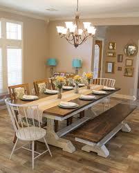 beautiful dining room top modern country farm table dining room design av62