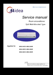 midea msg 24cr manuals midea msg 24cr service manual