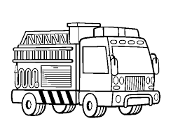 Disegno Di Un Camion Dei Pompieri Da Colorare Acolorecom