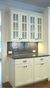 Off White Subway Tile granite countertop kitchen off white cabinets black and white 5813 by xevi.us