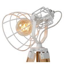 Joshua Vloerlamp ø 42 Cm E27 Wit