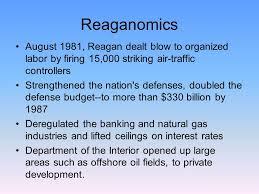 「1981 reaganomics」の画像検索結果