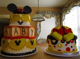 31 Best Baby Shower  Mickey Mouse Images On Pinterest  Mickey Baby Mickey Baby Shower Cakes