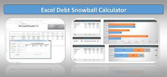 Debt Snowball Calculator Excel Spreadsheet Financial Freedom