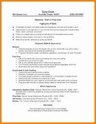 Cook Job Description Resume sample resume for cook position sample resume for cook position 78