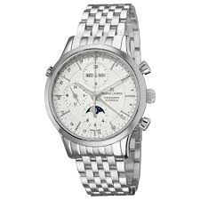 watches online maurice lacroix men s lc6078 ss00213e les classiqu maurice lacroix men s lc6078 ss00213e les classiqu silver chronograph dial bracelet watch