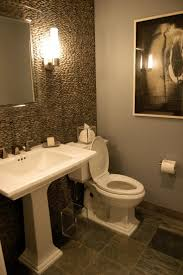 15 cool powder room ideas 15 cool powder room ideas with white vanity and wall mirror and lamps and water closet design