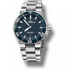blue oris watches men s automatic 30atm aquis divers watch ceramic bezel