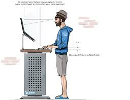 here are the top 10 reasons to switch to a standing desk and even a diy