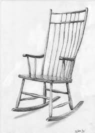 rocking chair sketch. pin drawn chair pencil drawing #3 rocking sketch c