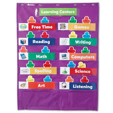 Where To Buy Pocket Charts Learning Resources Classroom Centers Pocket Chart Buy