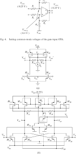Ota Circuit Design Figure 5 From 0 5 V Analog Circuit Techniques And Their