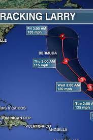 Major Hurricane Larry churning up the ...