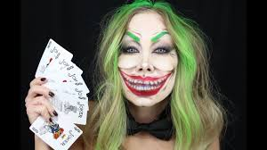 female joker makeup photo 1