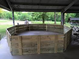 thanks to your generosity we were able to purchase the materials and build the first gaga ball pit at beaver day 2016