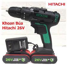 Máy Khoan Pin Hitachi 26V Chế Độ Búa - P16863 | Sàn thương mại điện tử của  khách hàng Viettelpost