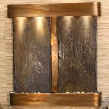 aspen falls lightweight slate wall water feature