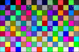 Multi Colored Calibration Chart All Colors Background Pattern
