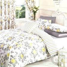 Grey And Yellow Duvet Cover – idearama.co & Vintage Floral Duvet Cover Poly Cotton Print Bedding Bed Quilt Set Yellow  Lemon Greygrey And King Adamdwight.com