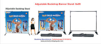 Pop Up Display Stands India Adjustable Backdrop Banner Stand Pop Up Display Stand 75