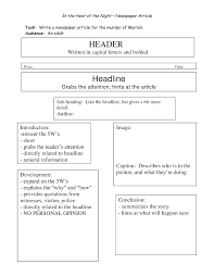 Newspaper Article Template Students Free Printable Newspaper Article Template For Students Blank
