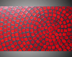 acrylic painting wall art abstract painting wall decor red and grey painting on canvas large painting abstract art 48 made2order by ilonka on grey red wall art with acrylic painting wall art tree painting wall decor red flower