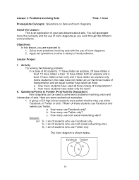 Venn Diagram Problem Solving Venn Diagram Probability Problems And Solutions Pdf Great