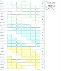 12 Team League Schedule Template