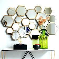 hexagon wall mirror hexagon mirror tiles hexagonal mirror tiles appealing hexagon wall mirror hexagon mirror wall tiles honeycomb mirror hexagon mirror