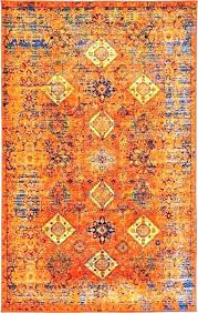 burnt orange colored area rugs evanmclaughlin orange and blue area rug houston blue orange area rug