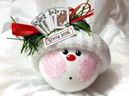 euchre ornaments clubs loner hand card game personalized name option hand painted handmade themed by townsend custom gifts