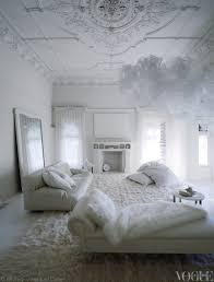 White On White Living Room Decorating An All White Room Inside Melbournes Red Court Mansion From