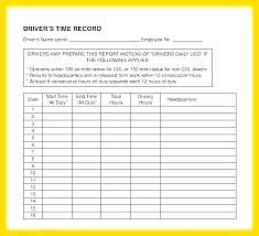 Drivers Log Book Sample Daily Work Log Book Template Globalforex Info