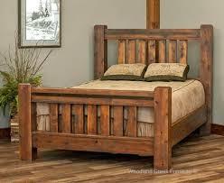 Northwoods Barn Wood Bed Barn Wood Bed Rustic Bed Cedar Bed Barn Wood Bed  Northwoods Barn . Rustic Barnwood Alder Canopy Bed ...
