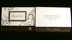 How To Make A Save The Date Card Using Modern Influences To Make Save The Date Cards For A Wedding